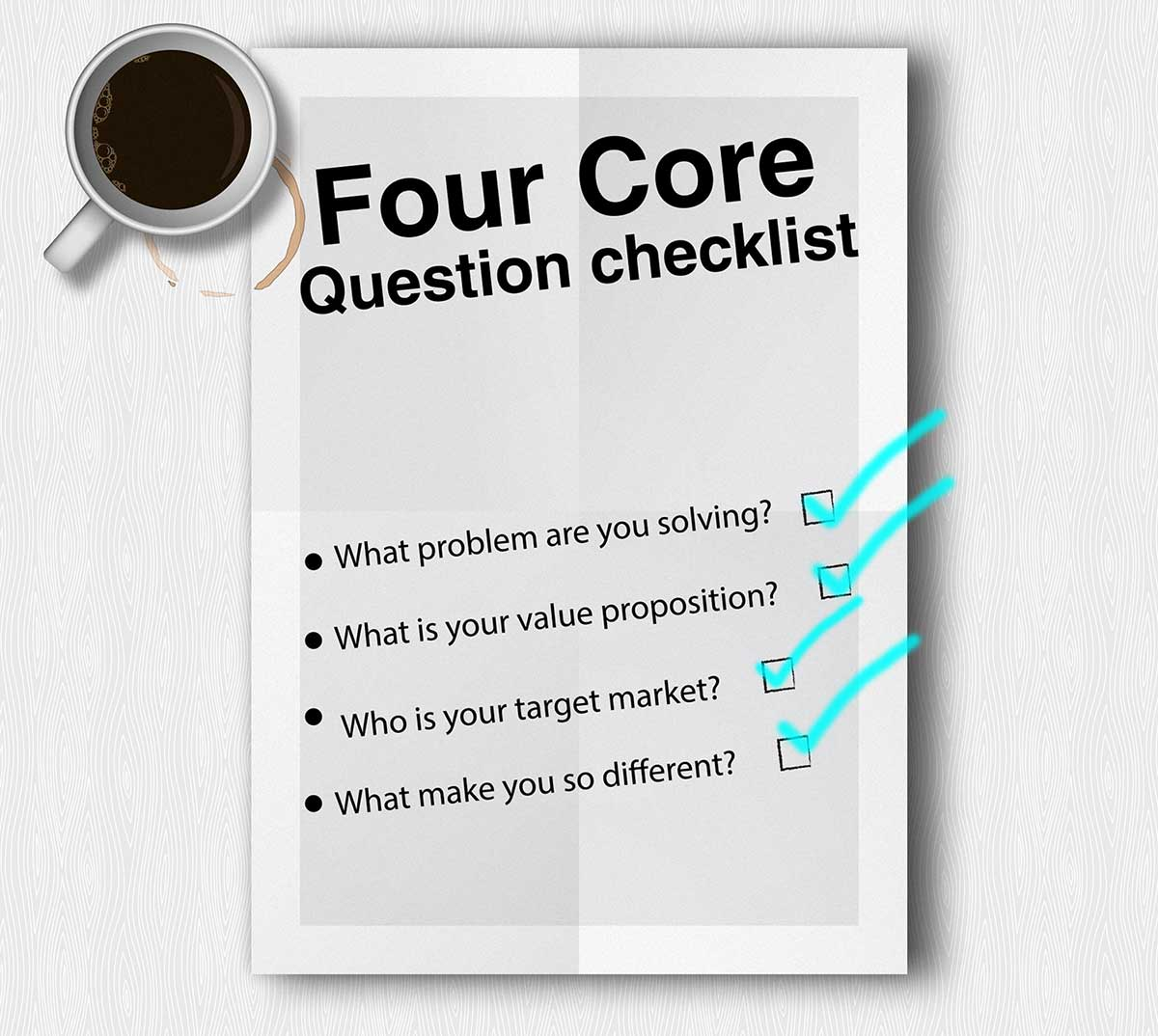 core question Marketing Strategy