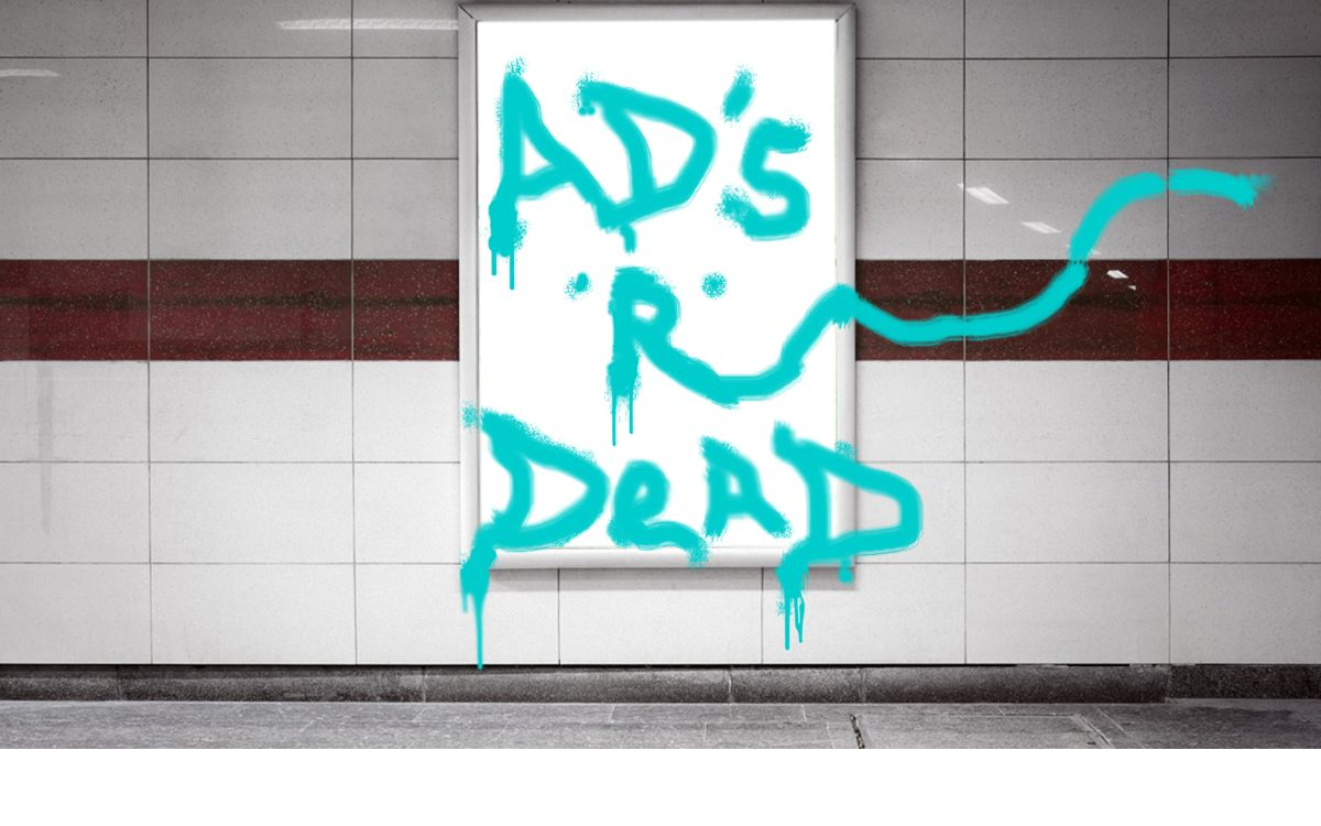graffiti advertising
