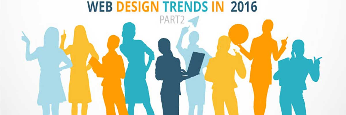 Web Design Trends Part 2 – Flat Designs and Call to action